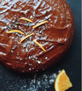 ciasto pomarańczowe bez mąki